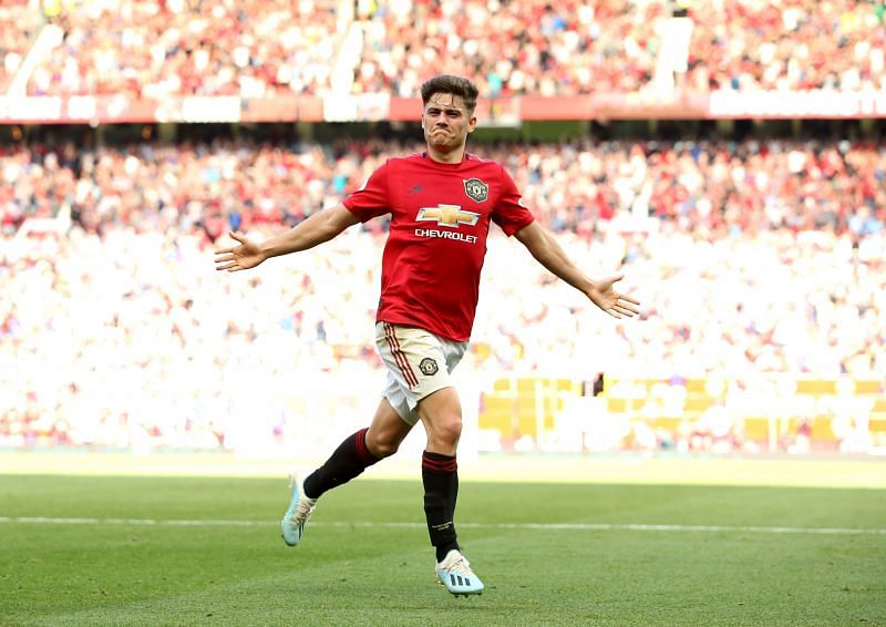 Manchester United star Daniel James
