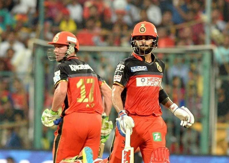 RCB were unable to string together a decent partnership