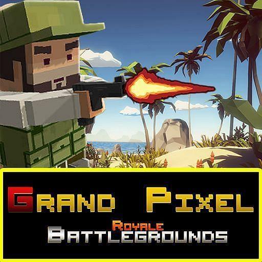 Grand Pixel Royale Battlegrounds Mobile Battle 3D (Image Credits: Google Play)
