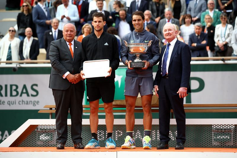 Dominic Thiem has reached the finals of the last two French Opens, losing to Rafael Nadal each time