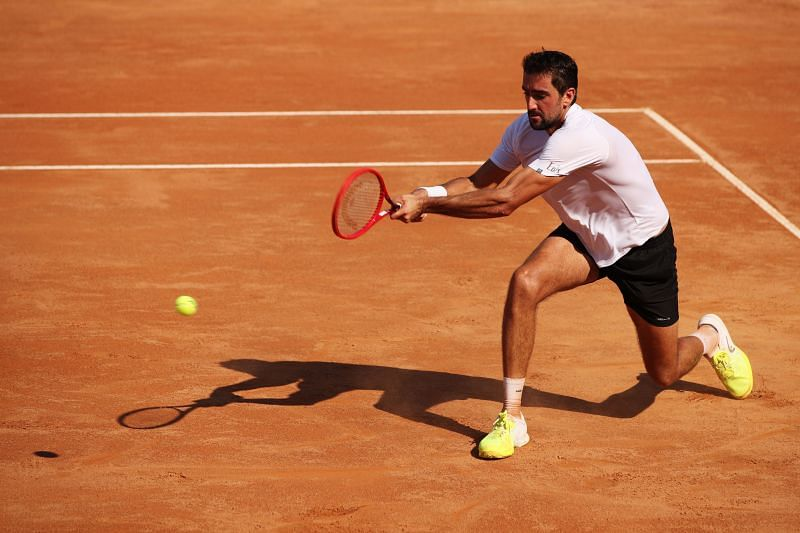 Marin Cilic at the Internazionali BNL D