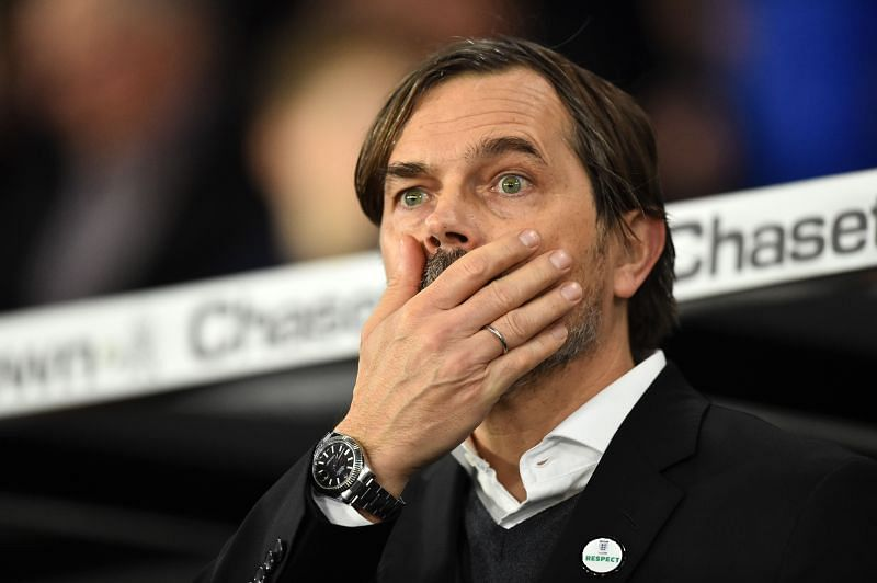 Derby boss Phillip Cocu has seen his side start the season in miserable fashion