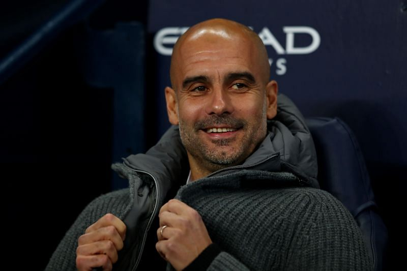 Josep Guardiola, Manager of Manchester City