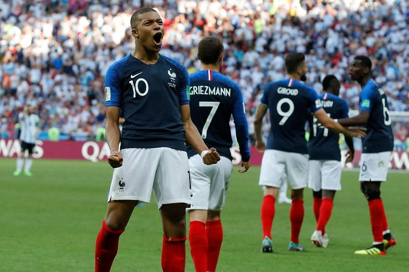 France are the reigning football world champions