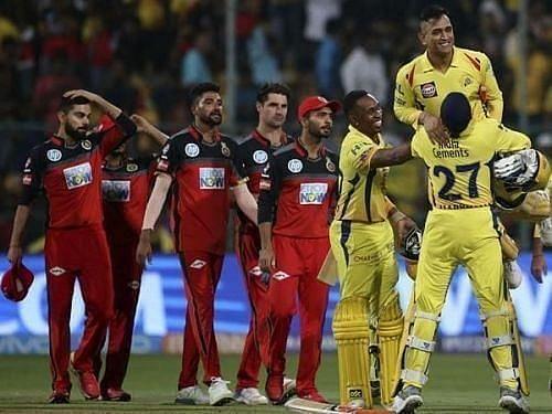 Chennai Super Kings vs Royal Challengers Bangalore. Pic: IPLT20.COM