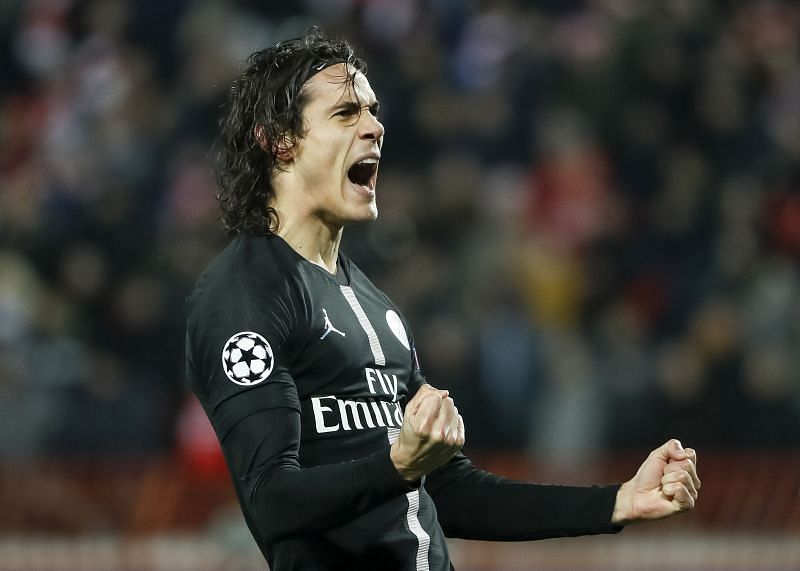PSG legend Edinson Cavani