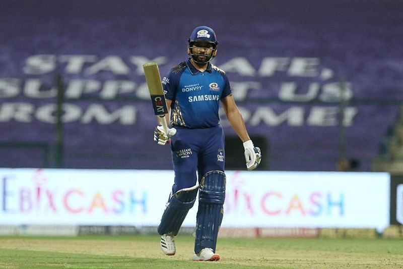 Rohit Sharma in action during IPL 2020 (Image Credits: IPLT20.com)
