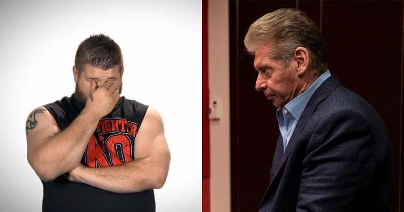 Kevin Owens and Vince McMahon share a personal relationship behind the scenes.