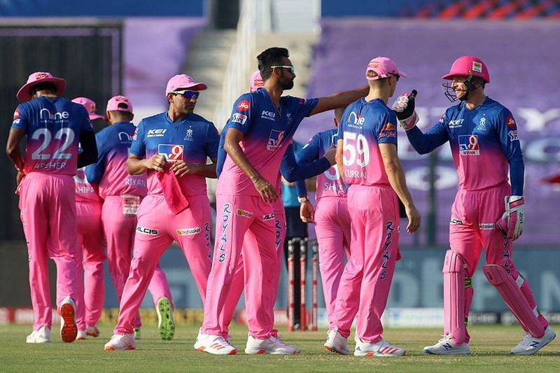 The Rajasthan Royals have not won a match outside of Sharjah in IPL 2020. (Image credits: IPLT20,com)