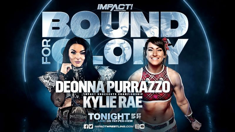Kylie Rae was originally supposed to face Deonna Purrazzo tonight