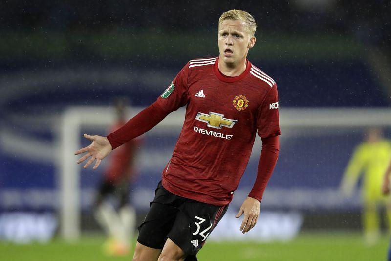 Donny van de Beek has been Manchester United