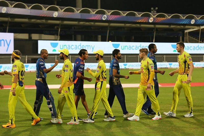 CSK received a drubbing at the hands of MI in yesterday