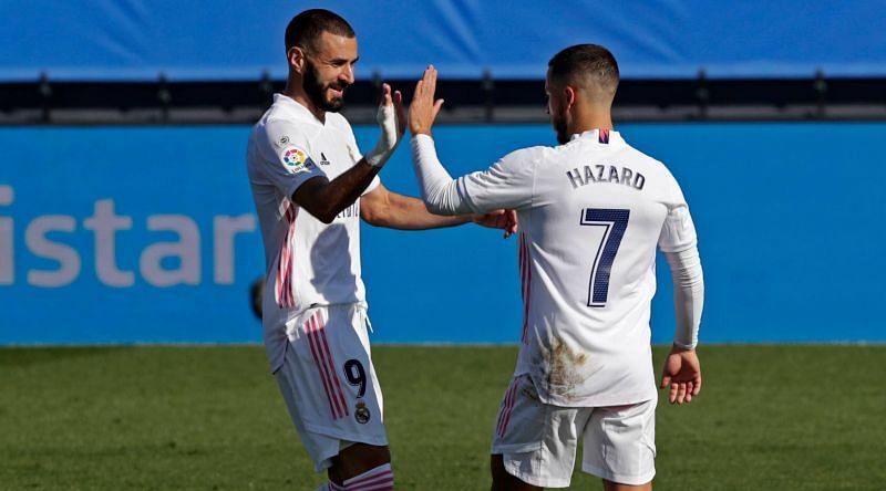 Both Karim Benzema and Even Hazard were superb against Huesca.