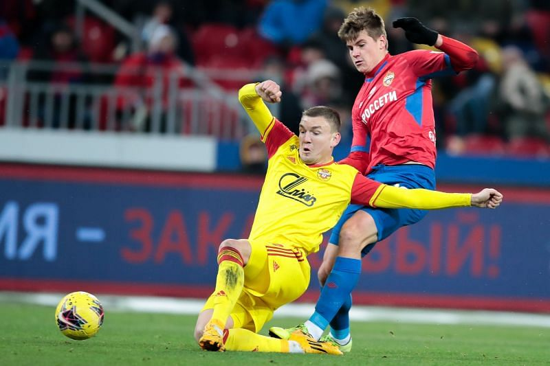 CSKA Moscow take on Arsenal Tula this weekend