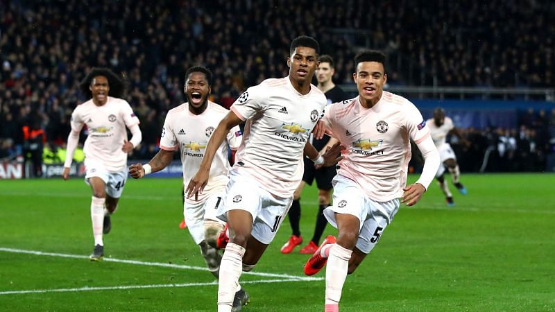 Manchester United beat Paris St. Germain on away turf in their last meeting with the French champions.