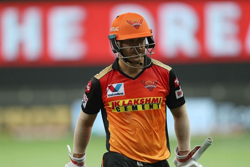 The in-form David Warner is one to watch out for on IPL Matchday 44. (Image Credits: IPLT20.com)