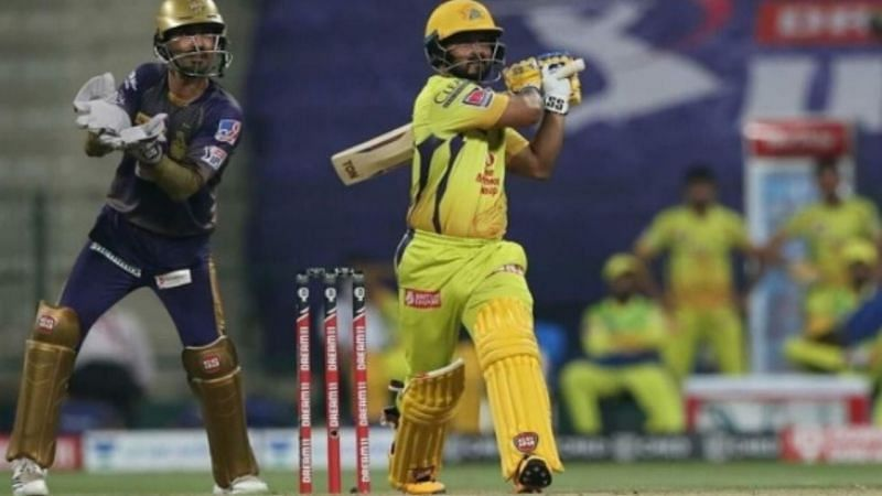The CSK middle-order, especially Kedar Jadhav, were finding it difficult to find the boundaries towards the death