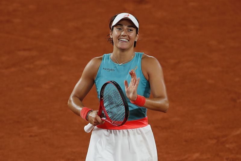 Caroline Garcia at the 2020 French Open