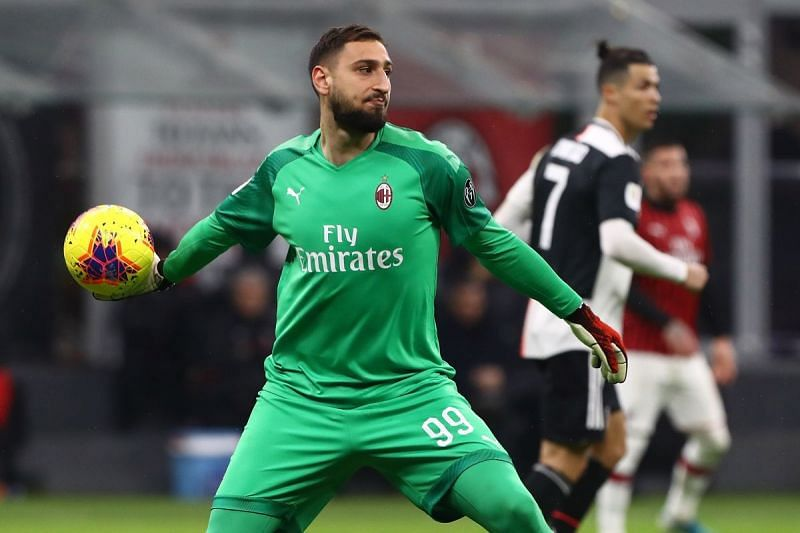 Donnarumma has over 200 caps for Milan, and he