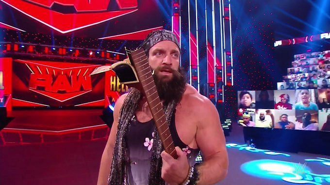 Elias is playing some of his greatest hits on Monday Night RAW