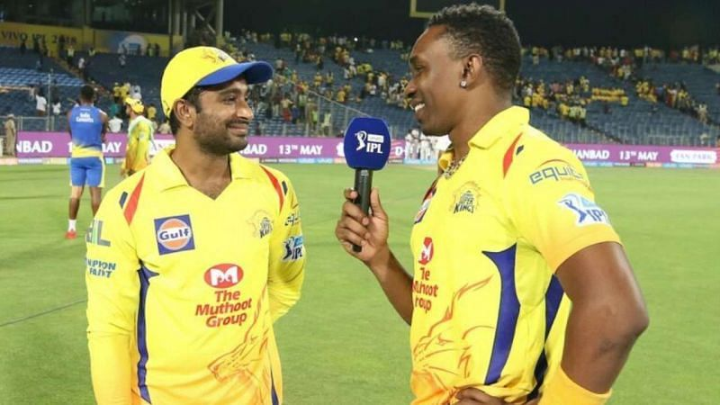 Both Ambati Rayudu and Dwayne Bravo are fit and available for selection (Image Credits: Twitter)