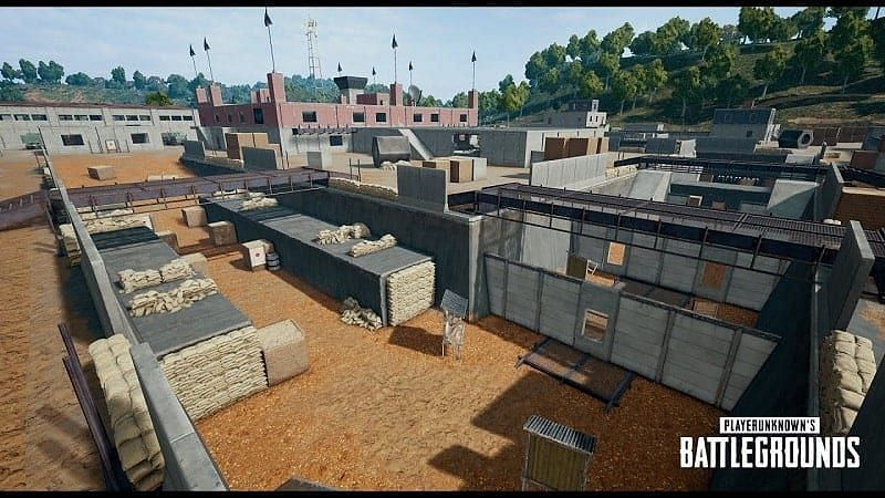 PUBG Mobile: Bootcamp in Sanhok map (Image credits: PCQuest.com)