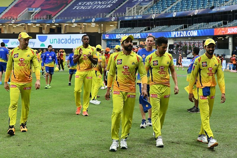 CSK performed really well as a team against SRH. (Image Credits: IPLT20.com)