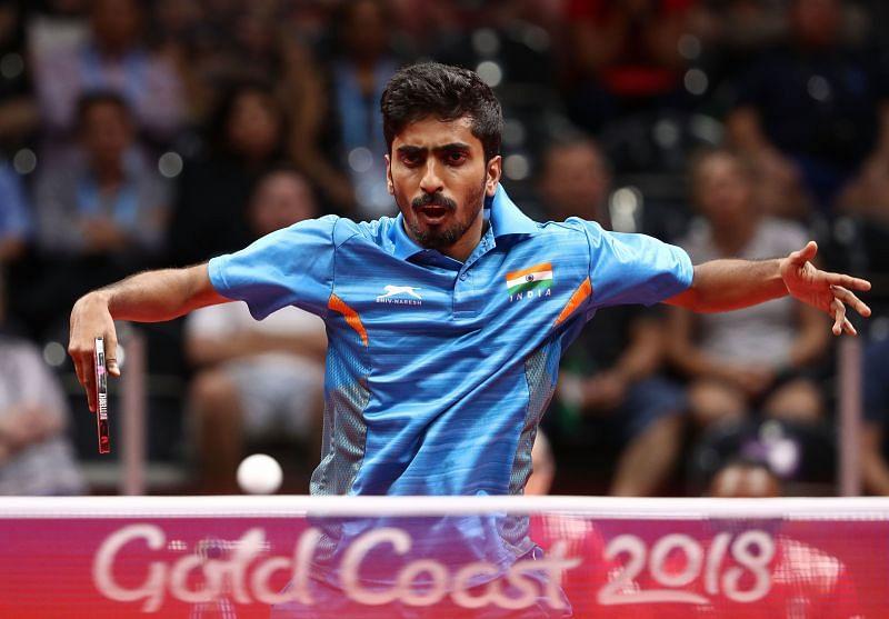 Table Tennis star G Sathiyan