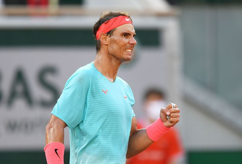 Rafael Nadal will be looking to match Federer