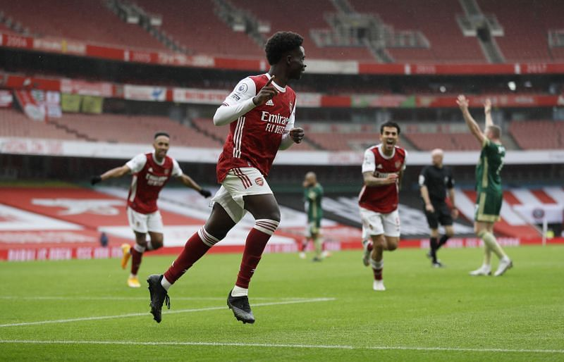 Saka is one of the Premier League