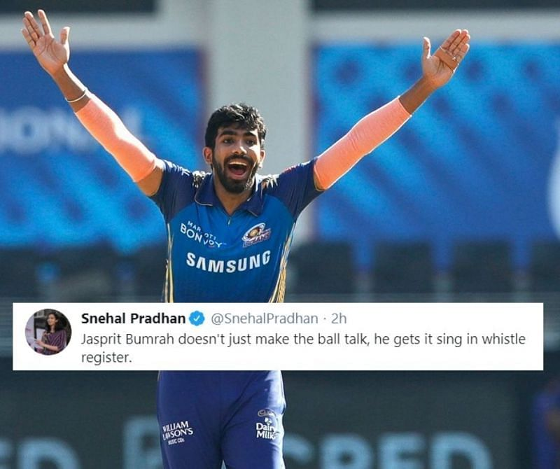 Jasprit Bumrah got hold of the IPL 2020 Purple Cap after taking 3 for 17 against DC.
