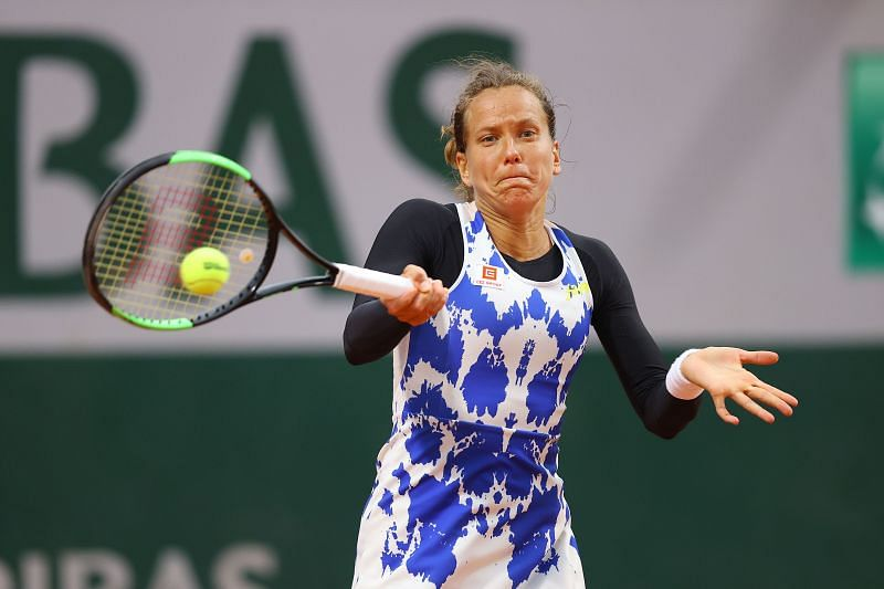 Barbora Strycova at the 2020 French Open