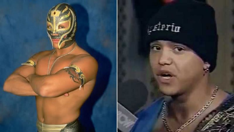 Rey Mysterio was unmasked in 1999