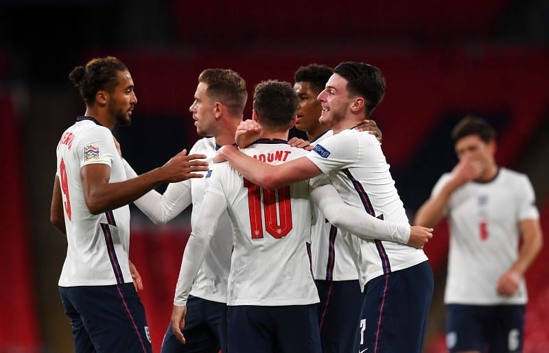 England picked up a 2-1 win over Belgium in the 2020-21 UEFA Nations League.