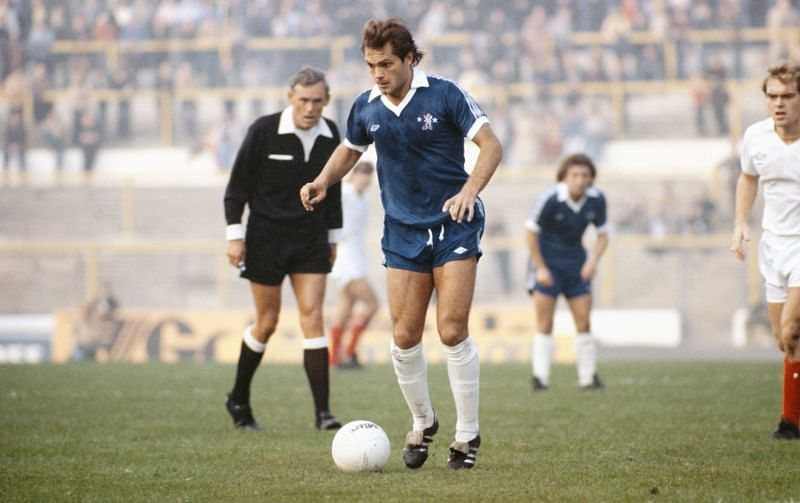 Ray Wilkins made his Chelsea debut at the age of 17