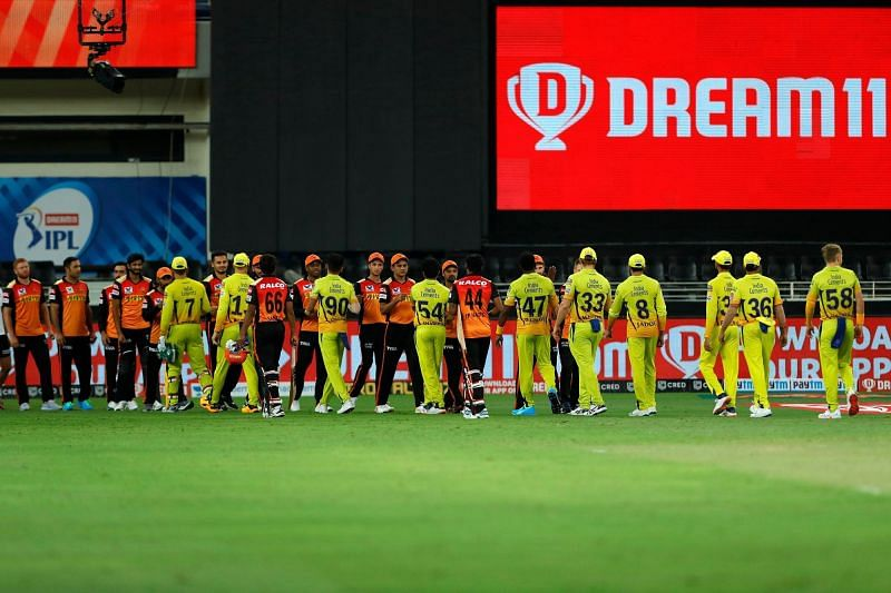Chennai Super Kings picked up an important 20-run win over SRH