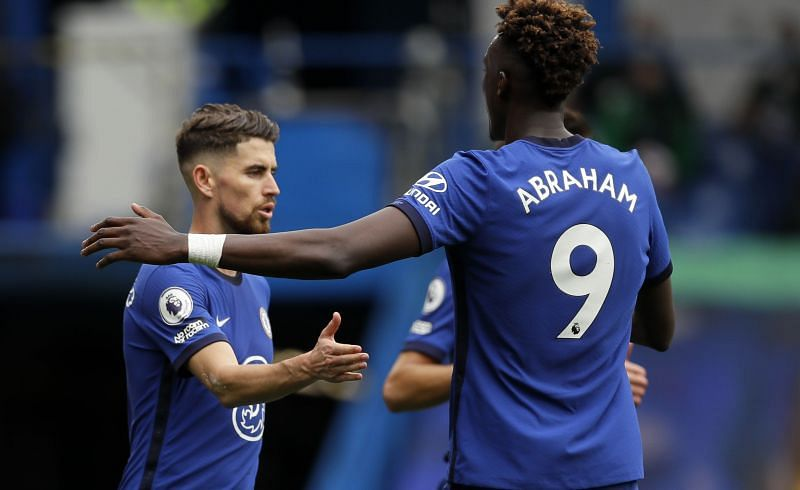 Jorginho and Tammy Abraham had a brief argument on who should take Chelsea