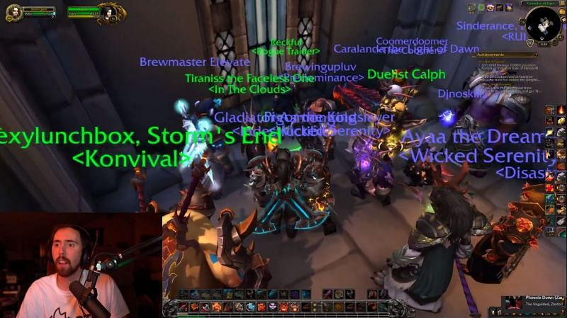 Blizzard came forward with an NPC Rogue Trainer character in honor of Reckful after his demise (Image Credits: Asmongold)