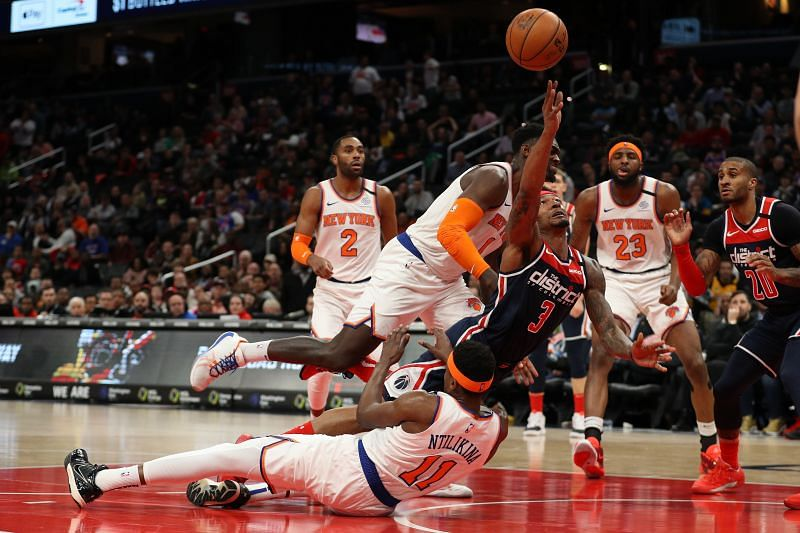 Frank Ntikilina had another poor outing for the New York Knicks in the 2019-20 NBA season