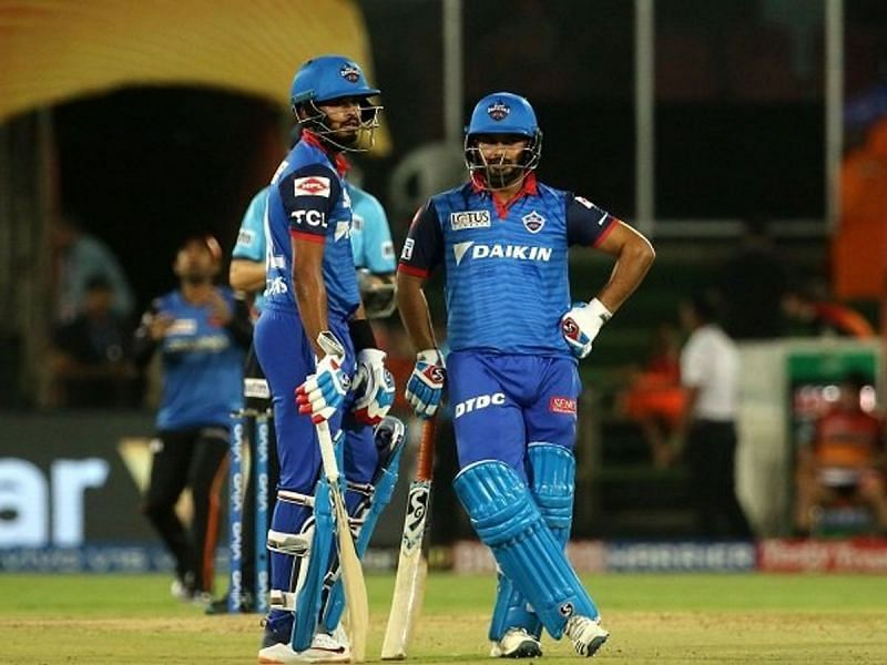 The Capitals will want from Pant and Iyer