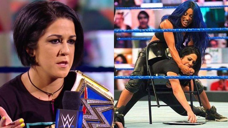 Bayley vs Sasha Banks this Sunday