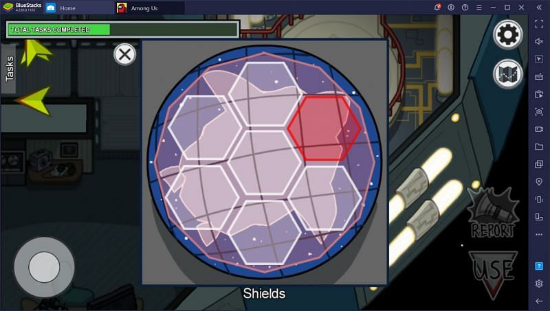 Prime Shields (short task) Image Credits: Bluestacks