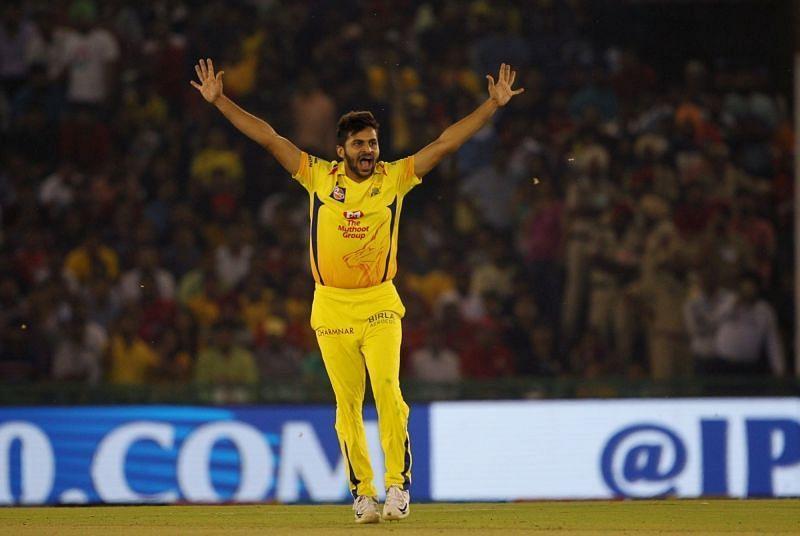 Shardul Thakur. Pic: IPLT20.COM