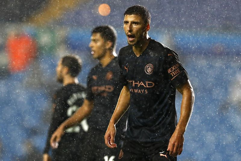 Dias in action for Manchester City