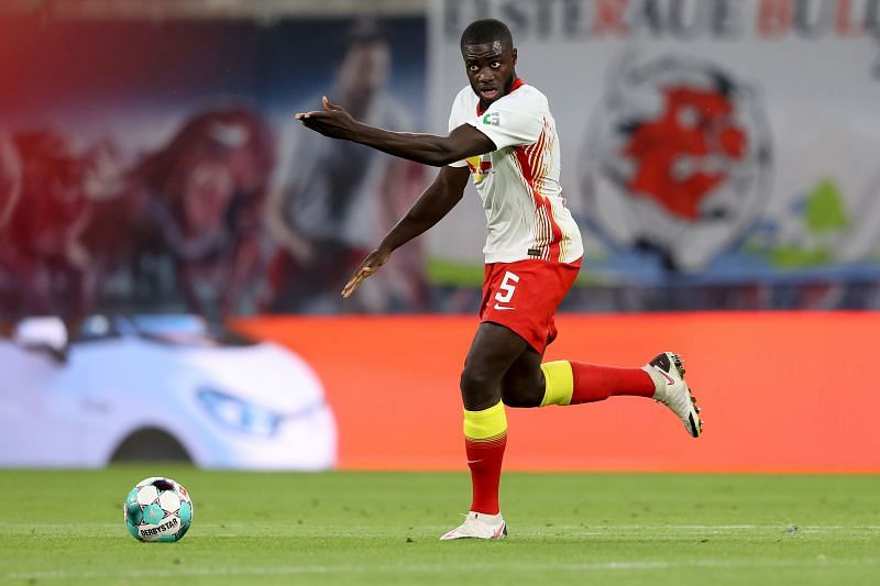 Dayot Upamecano is highly-rated at RB Leipzig