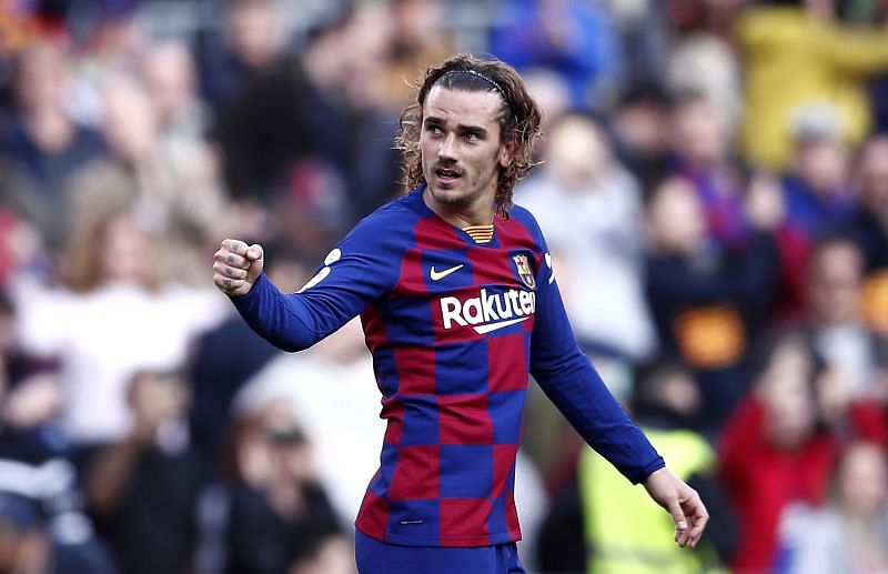 Antoine Griezmann has been played out of position at Barcelona