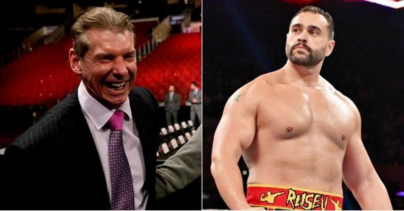Vince McMahon and Rusev