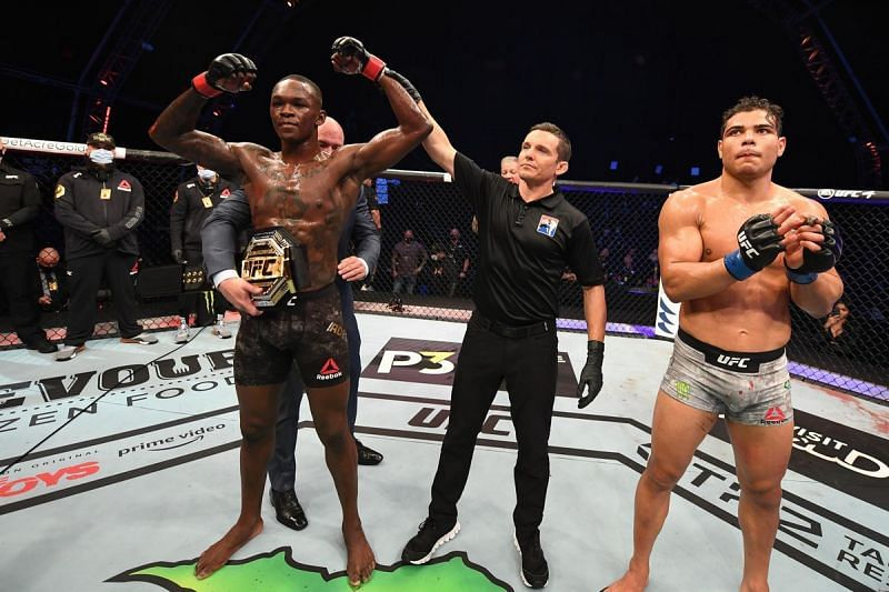 Israel Adesanya beat Paulo Costa at UFC 253