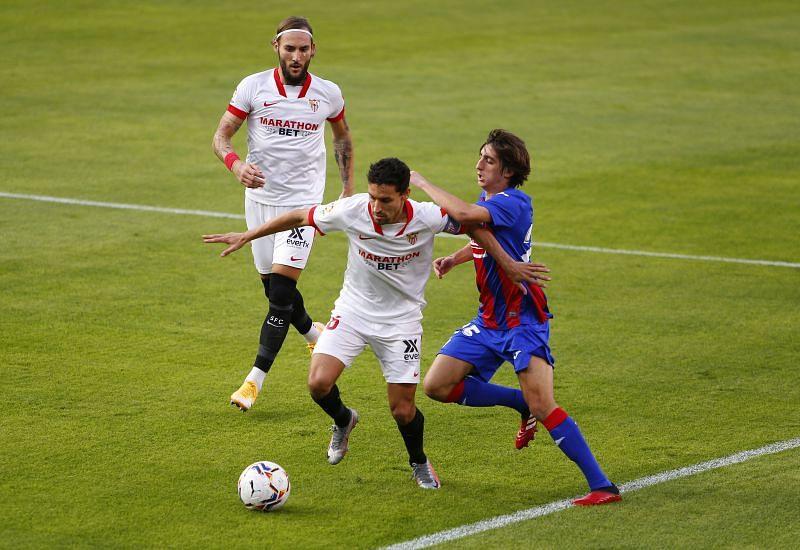 Jesus Navas has played every single minute in Sevilla