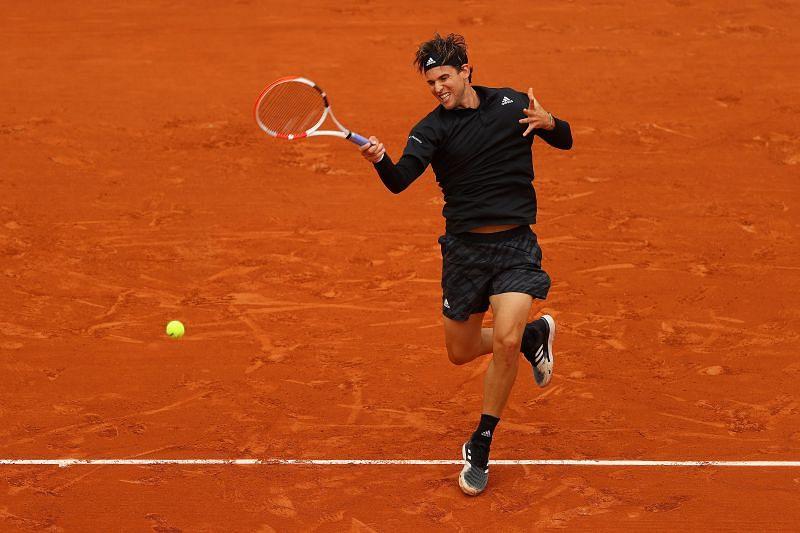 Dominic Thiem at Roland Garros 2020